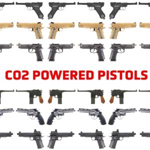 Co2 Powered Pistols