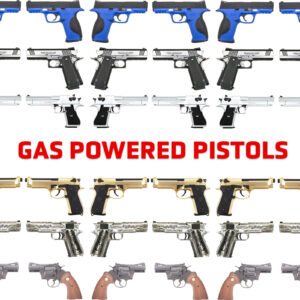 Gas powered Pistols